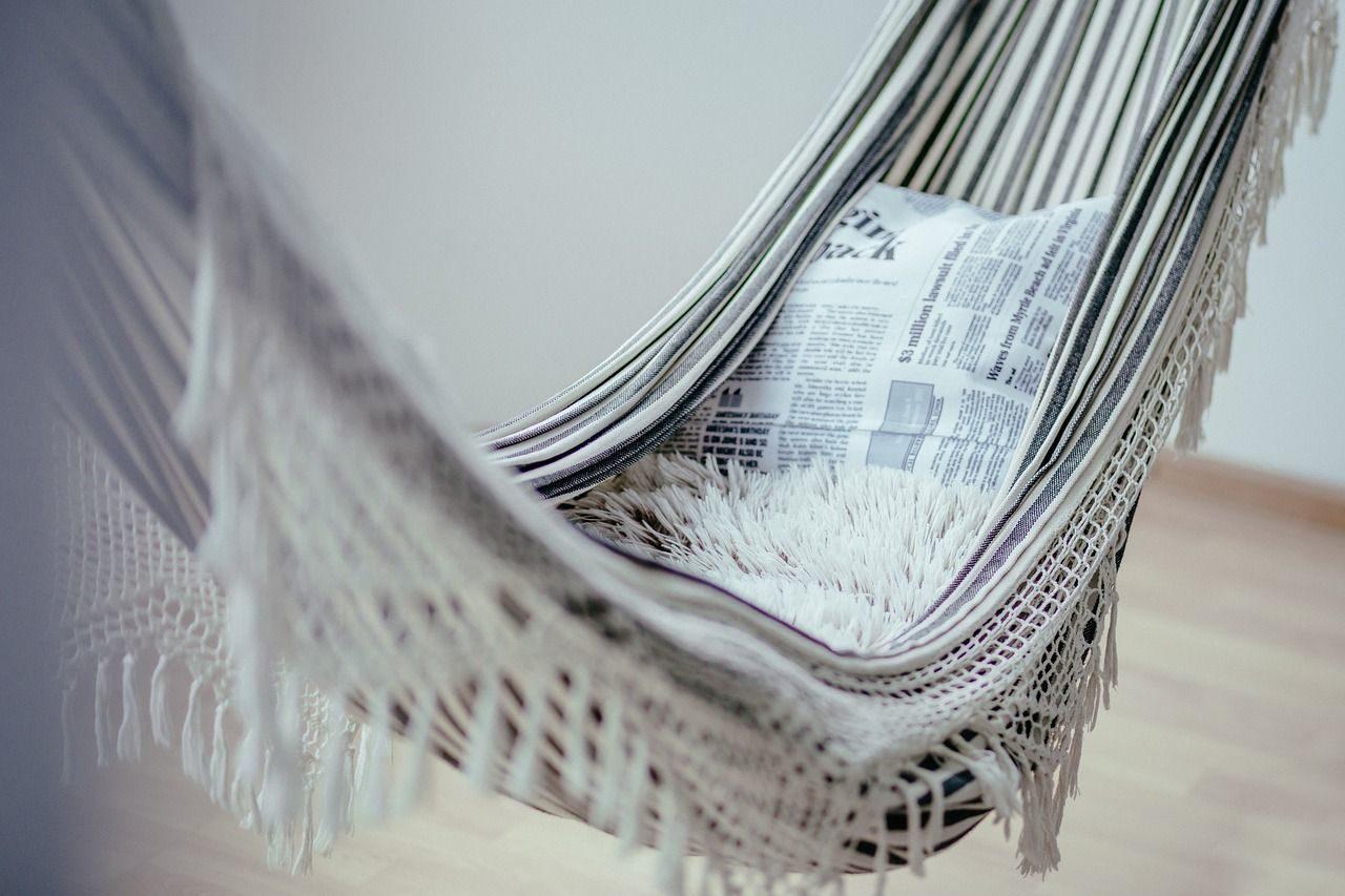 Entspannung und Gelassenheit – auch im Job möglich? Wer würde nicht gern in der Hängematte ausspannen?