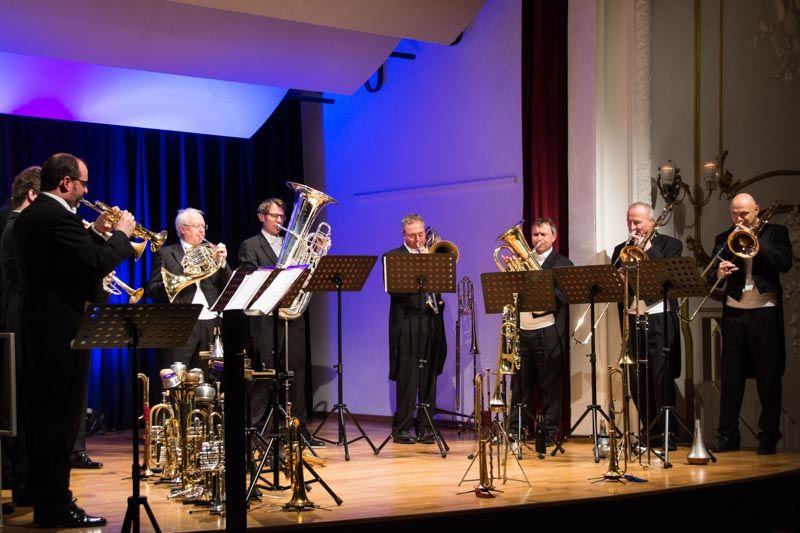 Opera Brass von den Blechbläsern der Bayerischen Staatsoper