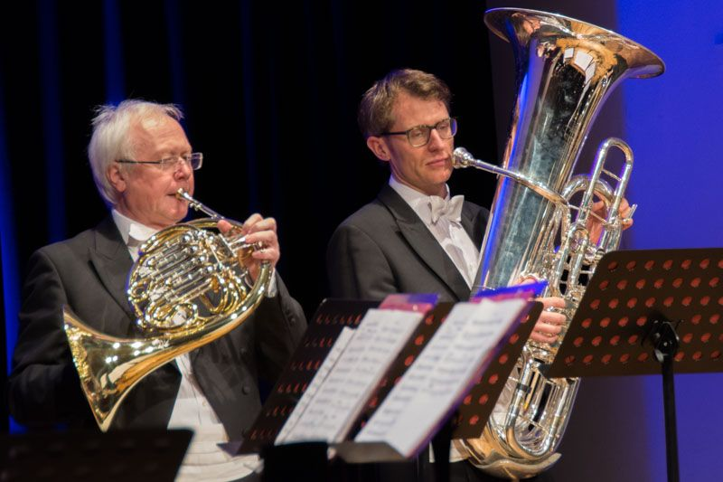 Opera Brass - Virtuosen: Rainer Schmitz (Horn) und Steffen Schmid (Tuba)