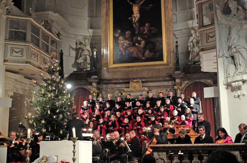 Reformations- und Weihnachtskonzert mit großer Chor- und Orchesterbesetzung Kammerorchester Tegernsee und Palestrina Motettenchor