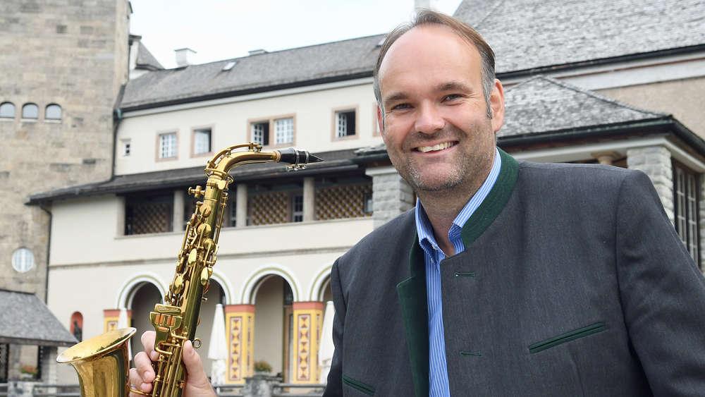 Saxofonist Thomas Tomaschek