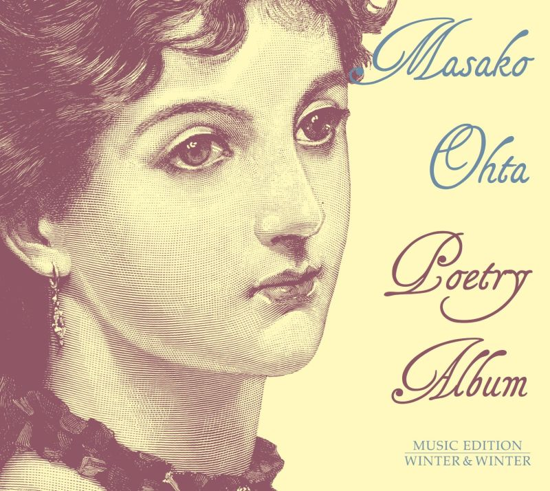 "CD Cover Masako Ohta ""Poetry Album"""
