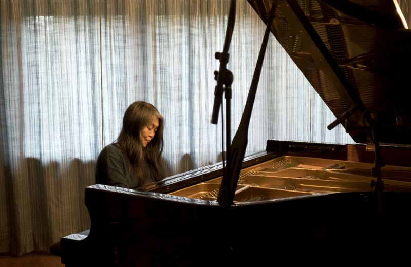 "Pianistin Masako Ohta bei der Aufnahme zur CD ""Poetry Album"""