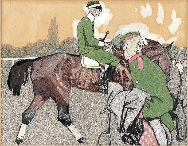 Eduard Thöny: Friedenskundgebung, 1908, Simplicissimus Jg. 13, Heft 20