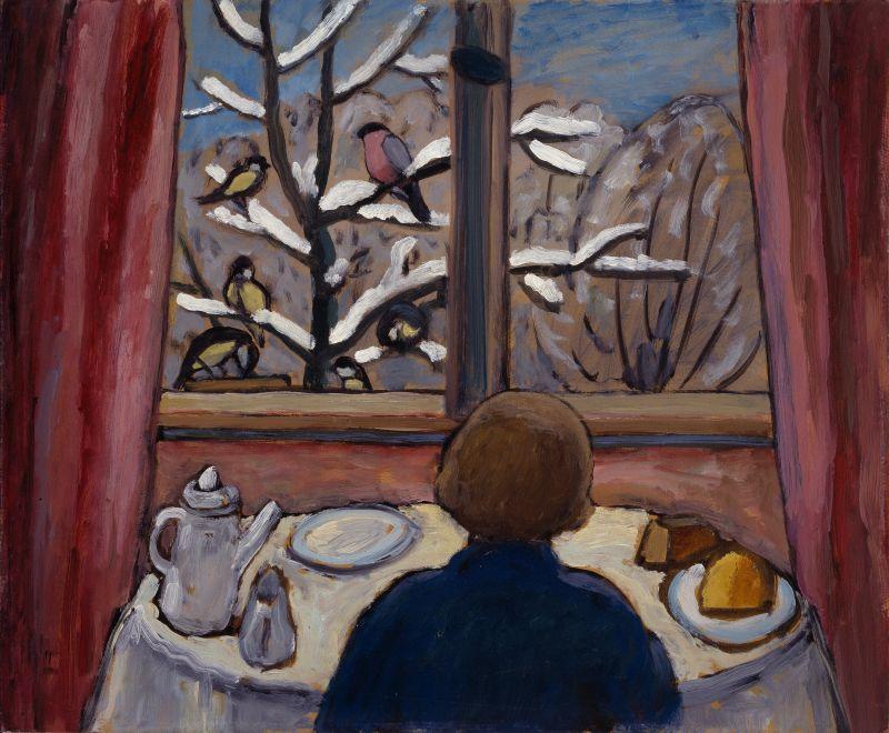 Das Frühstück der Vögel, 1934.
