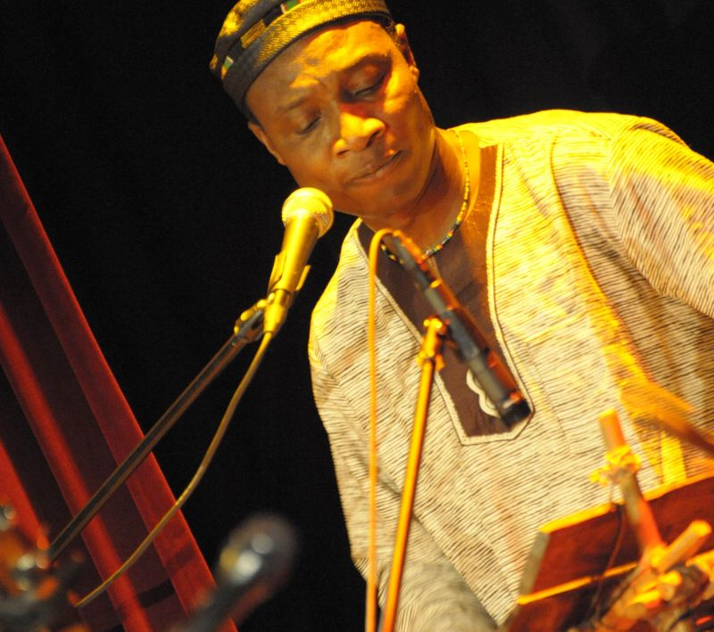 Afrikanische Weltmusik mit Adjiri Odametey