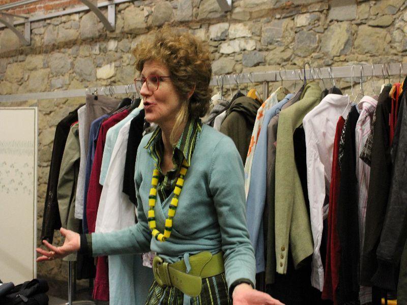 Angelika Huber erklärt ihre Philosophie zum Swapping