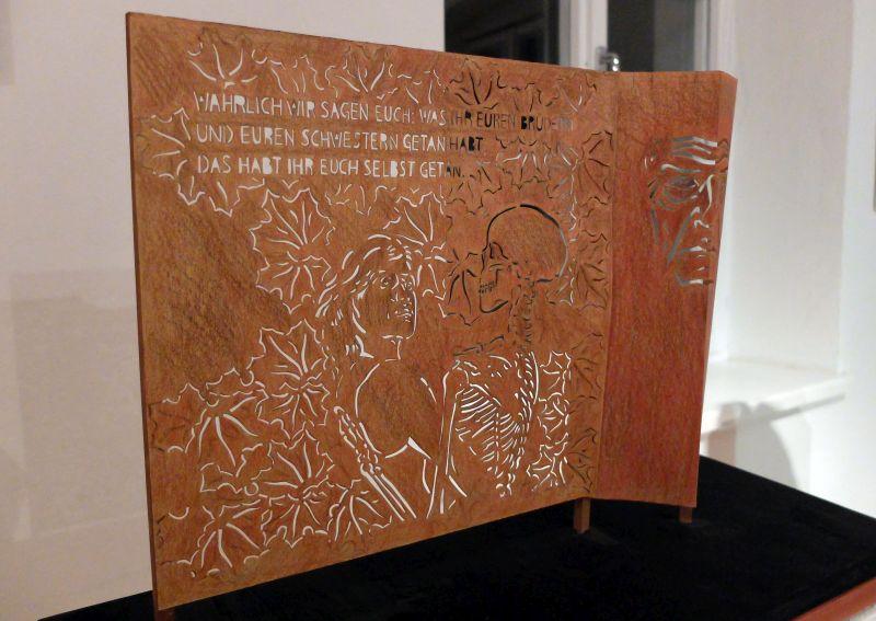 """""""Der Totentanz"""" - Model einer von 10 Tafeln."""