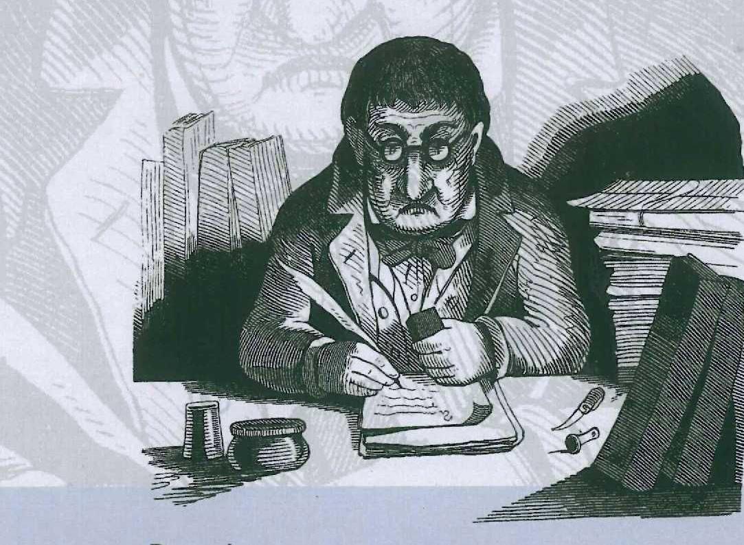 Franz von Pocci-Werkausbgabe Band 1: Der Staatshämorrhoidarius - Ausschnitt Cover