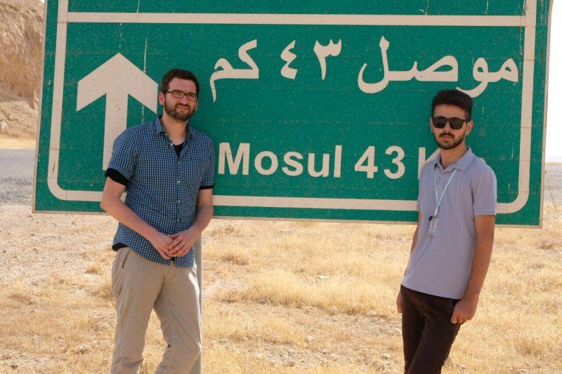 Beschädtigt sich mit dem Thema Christen im Irak: Journalist Christian Selbherr