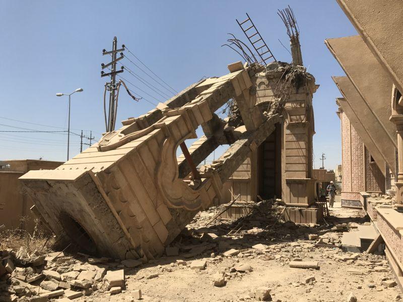 zerstörte Städte - nicht nur für Christen im Irak ein Trauma