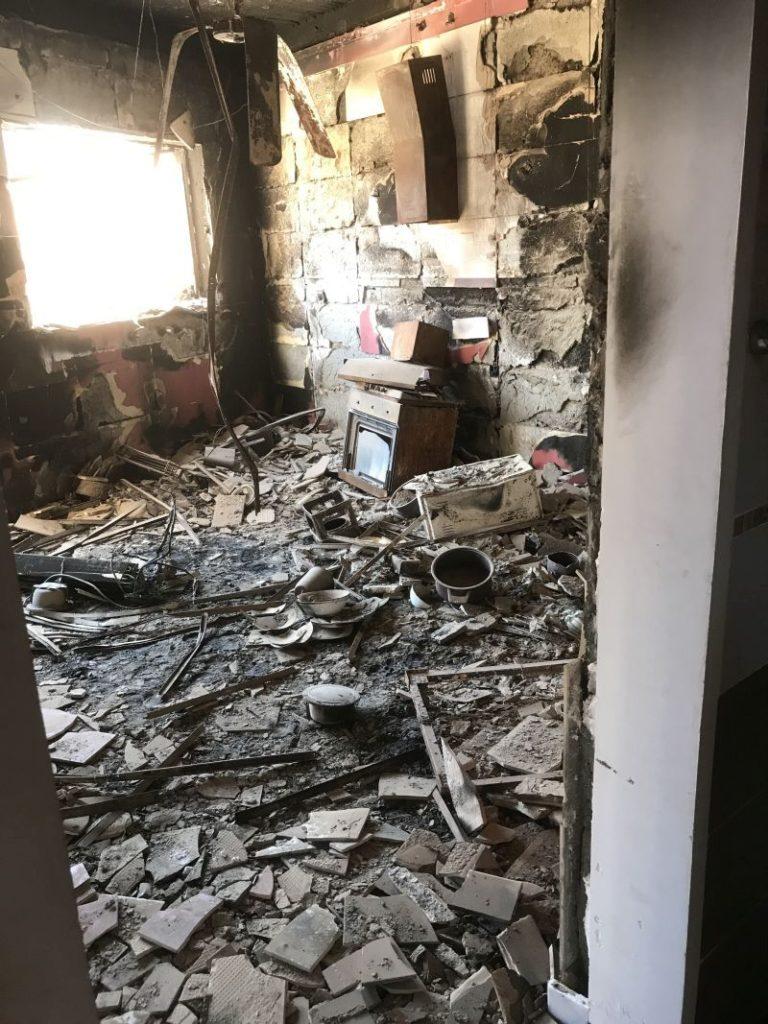 Die Zerstörung ist groß im Irak