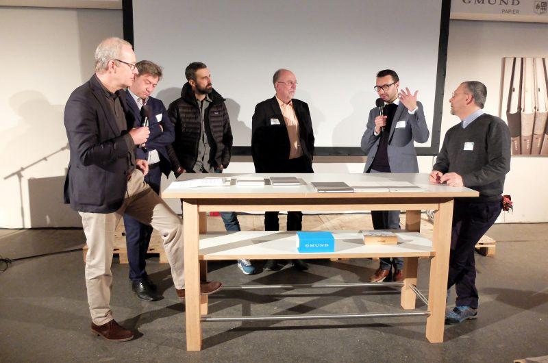 Kreativköpfe beim Designsymposium der kreativwirtschaft im Oberland