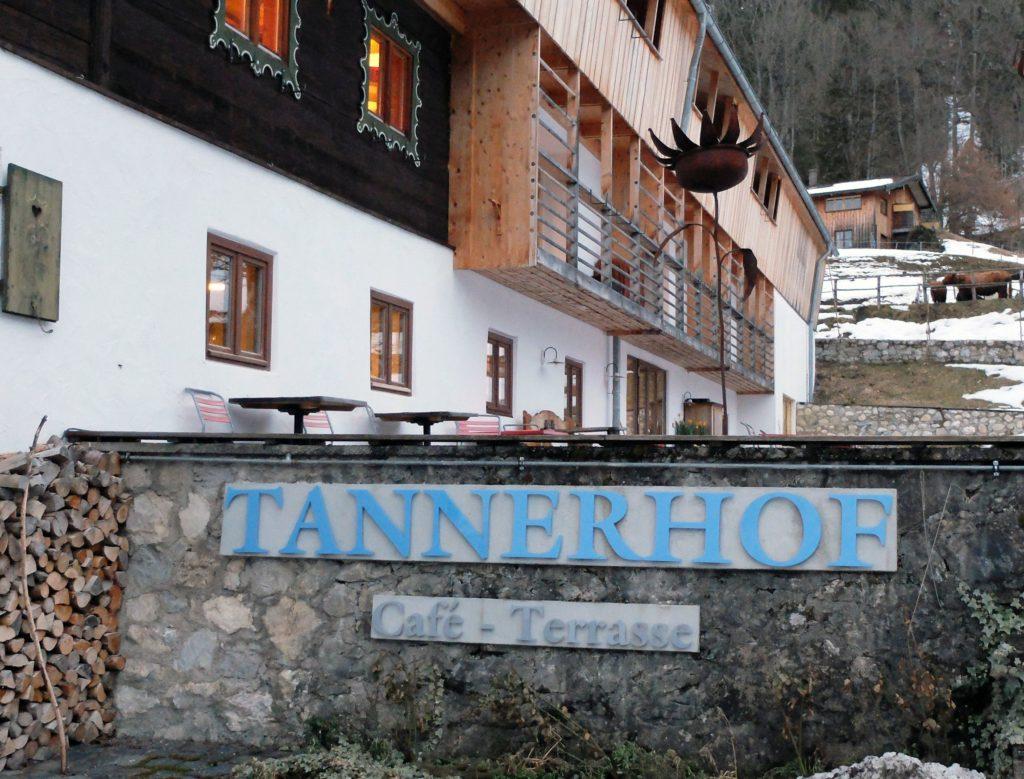 Alte Tenn am Tannerhof: Alt und Neu zusammengeführt.