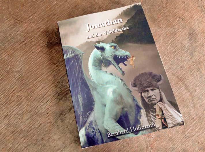Jugend-Fantasyrman Jonathan und der Nebeldrache - Cover: Indianerträume