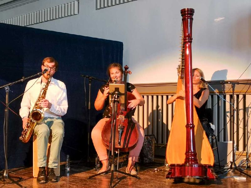 Musik für die Seele vom Trio D´Accord: Franz Jetzinger, Agnes Schlaghaufer, Barbara Gasteiger