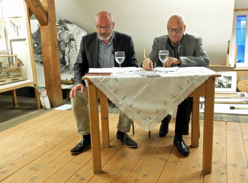 Literarische Collage - Ludwig Thoma Briefwechsel - Dr. Norbert Göttler und Marc Tügel