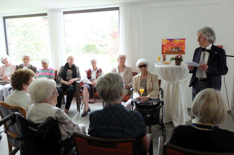 Kunst im Seniorenheim KWA Stift Rupertihof