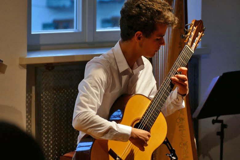 Benjamin Wittmann bei Jugend musiziert Preisträgerkonzert