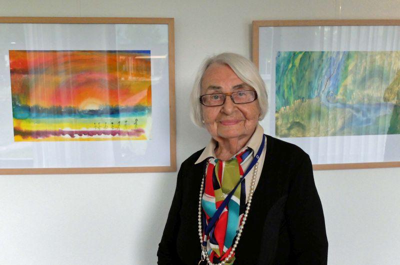 Gerda Döring - Kunst im Seniorenheim hält jung