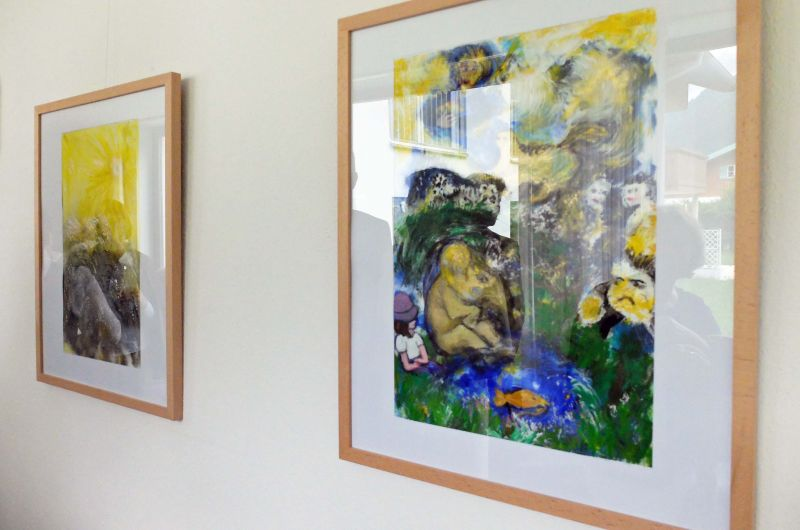 Ingrid Schilling - Kunst im Seniorenheim Rupertihof