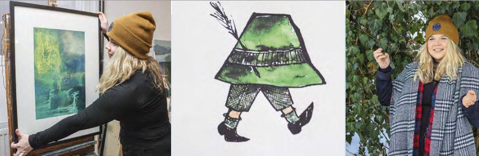 Pia von Miller möchte einen mobilen Ausstellungsraum für junge Künstler schaffen