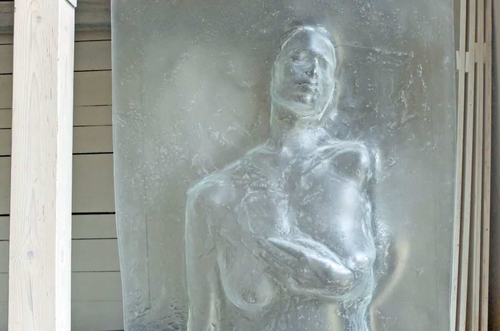 """""""Glas ist wie eine zweite Haut"""", Florian Lechner."""