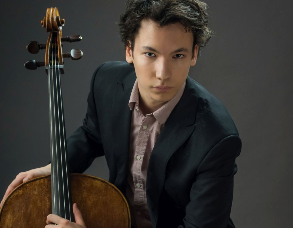 Cellist Edgar Moreau beim Musikfest Kreuth am Tegernsee