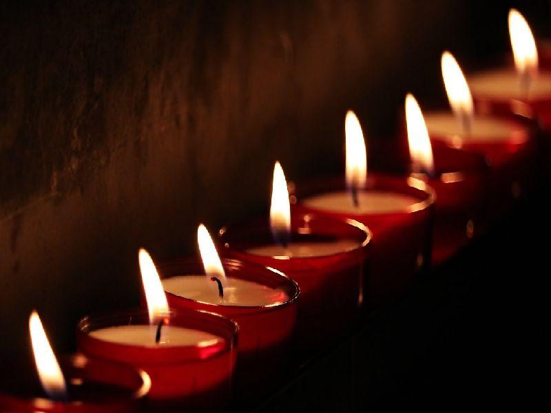 Kerzen als Hoffnungsträger