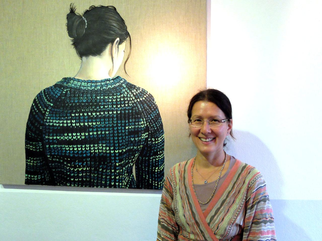 Licht in der ,alerei - Brigitte Yoshida Pruchnow am Tannerhof