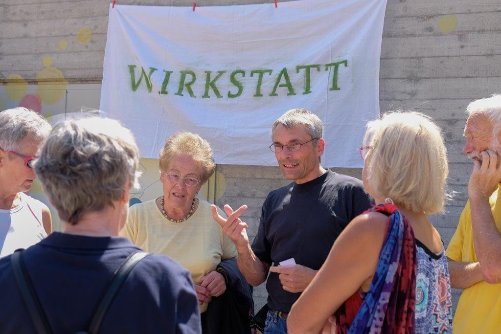 Begegnung, Gespräche, Ideen: Bernd Villwok von der Wirkstatt