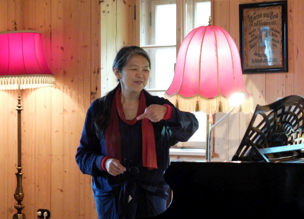 Masako Ohta am Tannerhof