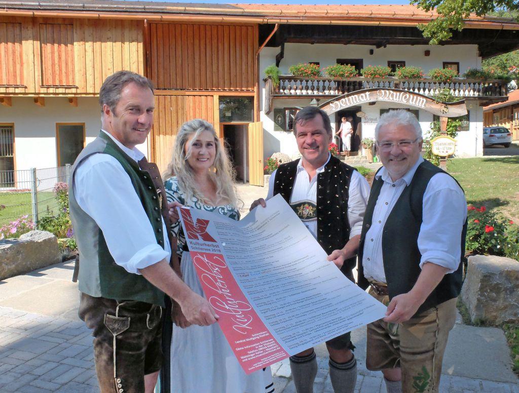 Schlierseer Kulturherbst - Johannes Wegnmann, Marion Riedl, Franz Schnitzenbaumer, Mathias Schrön