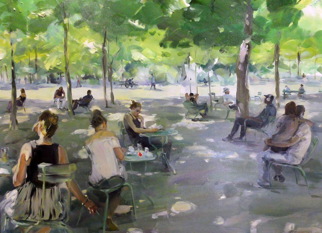 "Ekaterina Zacharowa: ""Jardin du Luxembourg - Hommage an Max- Liebermann"""