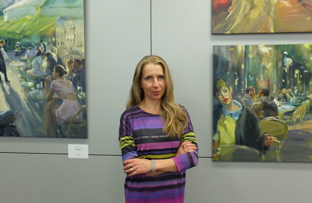 Künstlerin Ekaterina Zacharowa
