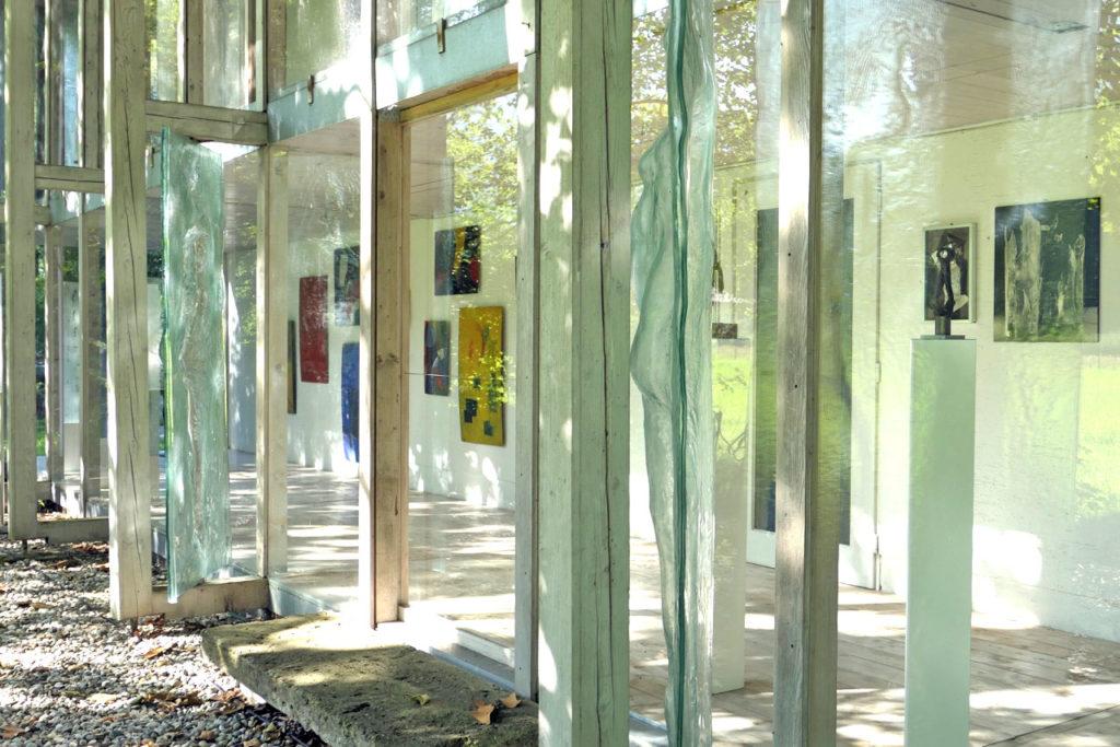 Florian Lechner - Blick in die Galerie in Nußdorf