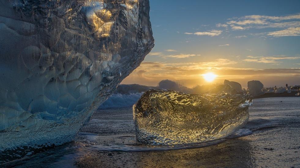 Stephan Schulz, Island & Grönland, Eisbergstrand Joekulsarlon