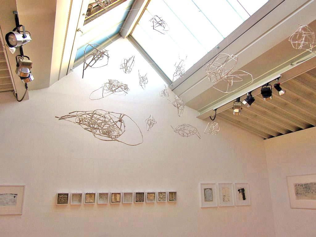 Kunst in Holzkirchen - Anni Rieck: Flugobjekte