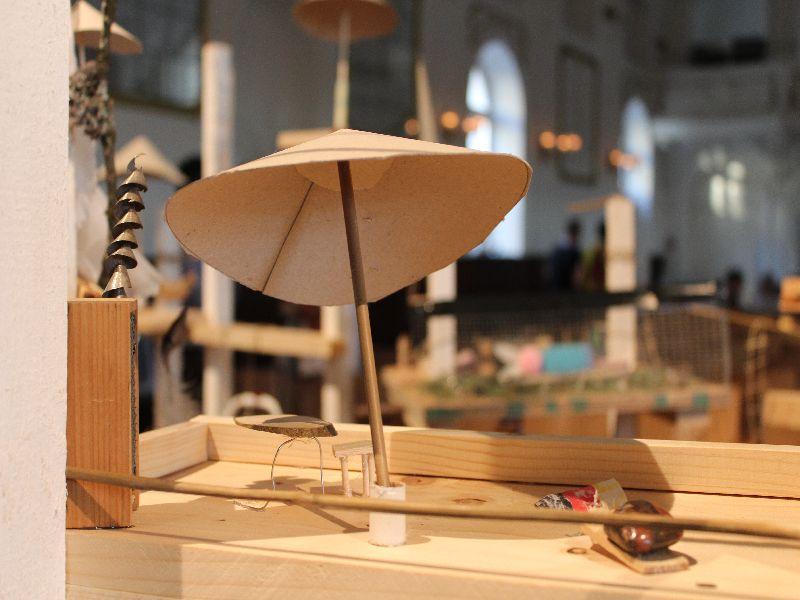 """Detail aus dem Kunstwerk """"Traumschiff"""" Foto: Karin Sommer"""