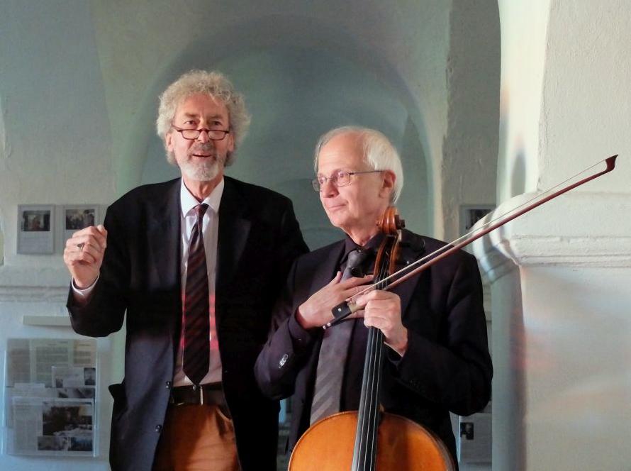 Peter Coreth und Franz bartholomey