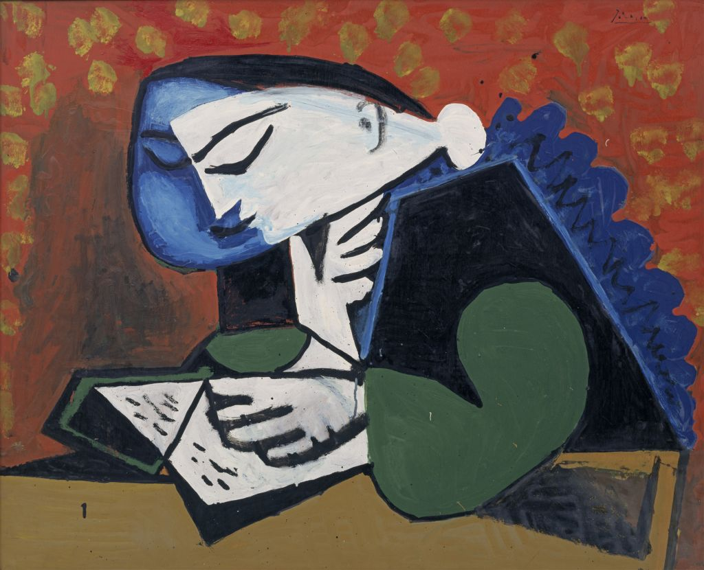 "Franz Marc Museum Kochel - Picasso Lesende - Ausstellung ""Lektüre"" im Franz-Marc-Museum Kochel"