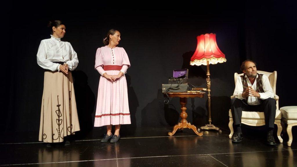 Pygmalion im neuen Kammertheater im Waitzinger Keller