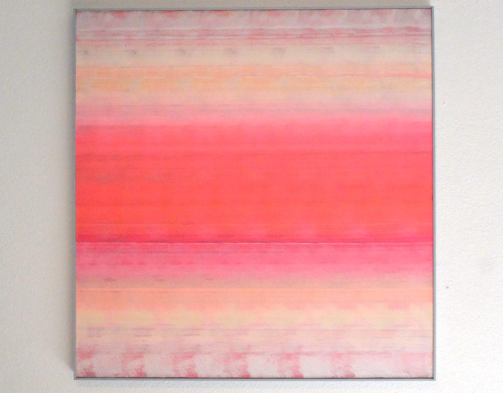 Reinhold Schmidt abstrakte Farbschichten