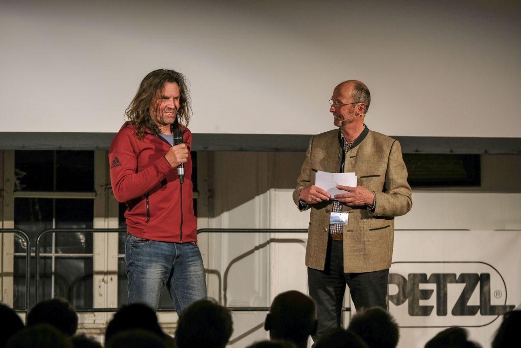 Thomas Huber und Michael Pause Bergfilm Festival Tegernsee