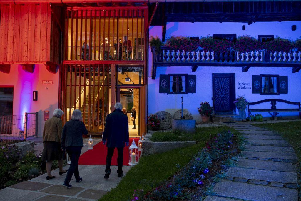 Historisches Heimatmuseum und moderner Neubau