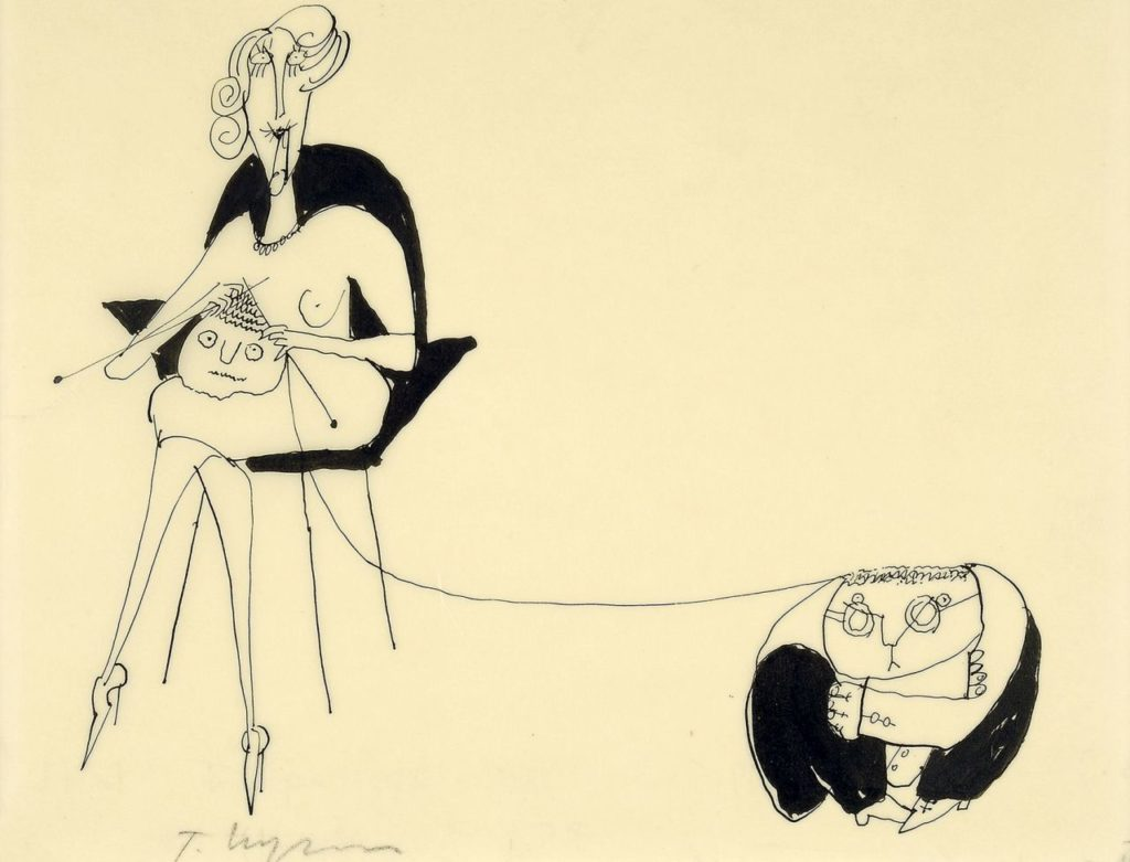Tomi Ungerer in Tegernsee im Olaf Gulbransson Museum