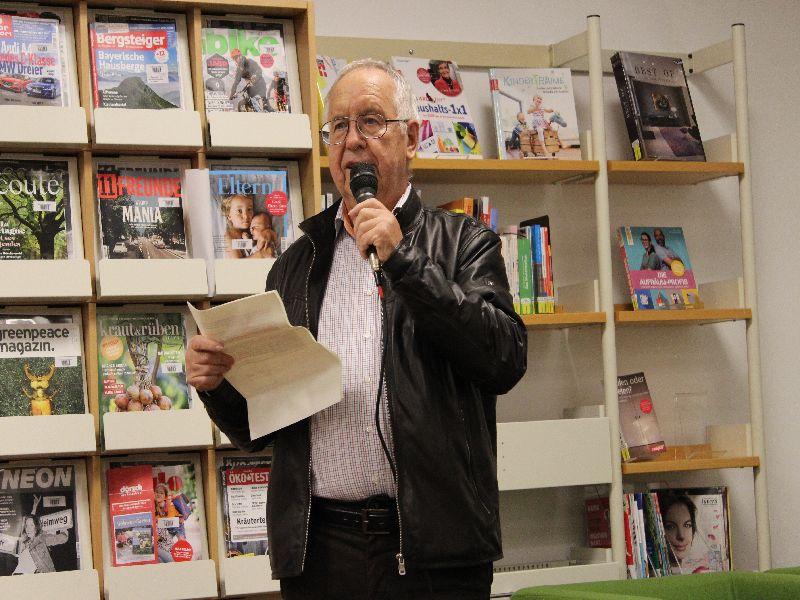 Fritz Weigl betont die Wichtigkeit des Themas