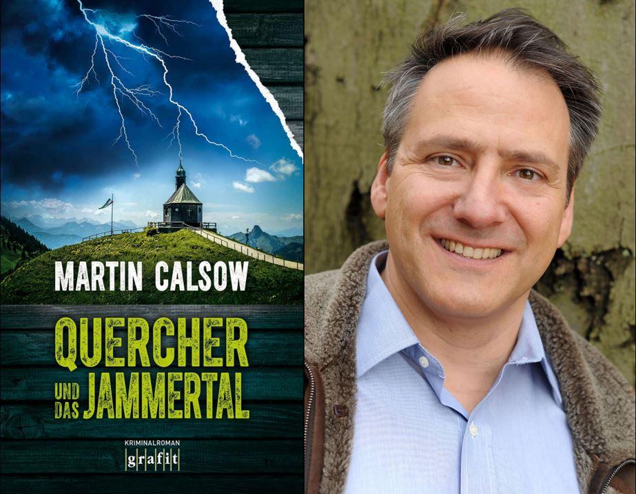 Quercher Krimi - Krimischriftsteller Martin Calsow und sei neuestes Titelcover