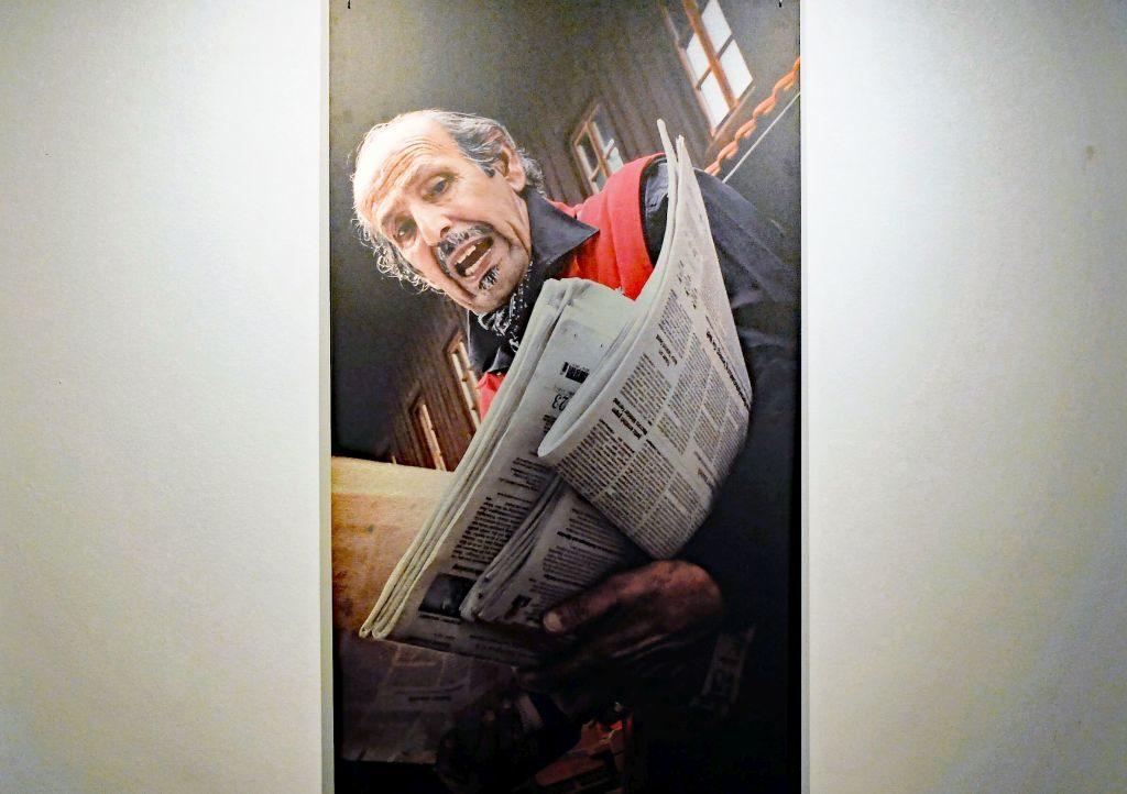 Muriel Breu - und der Rottacher Zeitungsverkäufer