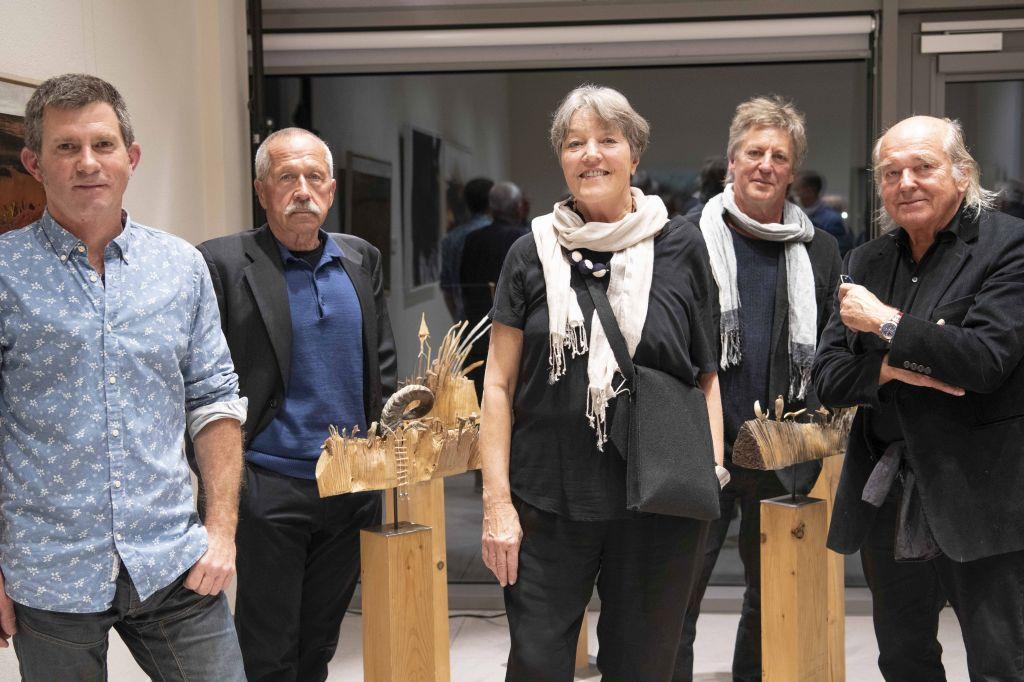 TOBEL, Erwin Schwentner, Cornelia Heizel-Lichtwark, Georg Brinkies und e.lin bestreiten die große Kunstausstellung zum 11. Schlierseer Kulturherbst